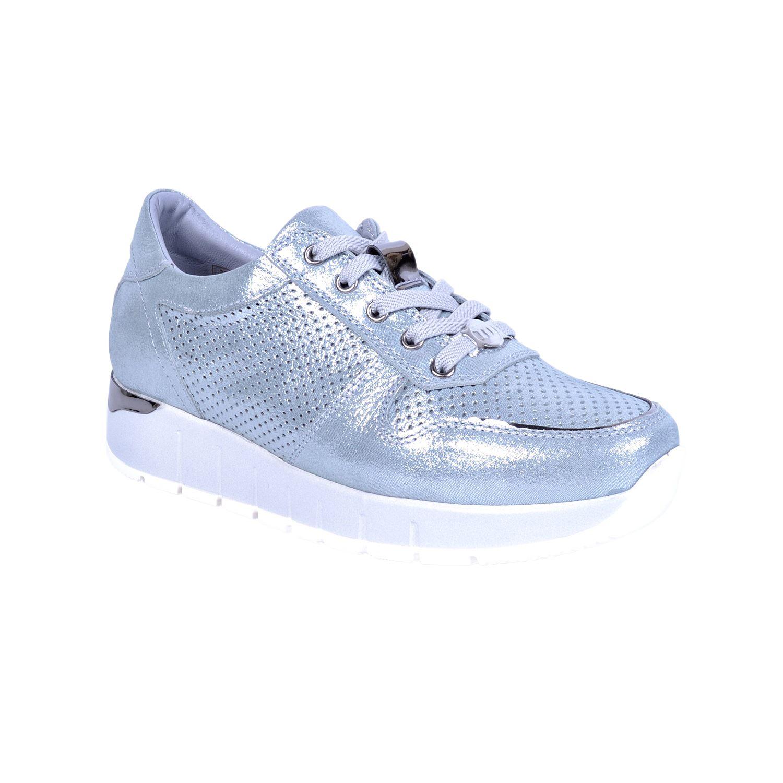 Mammamia 3270 Mavi Kadın Deri Ayakkabı