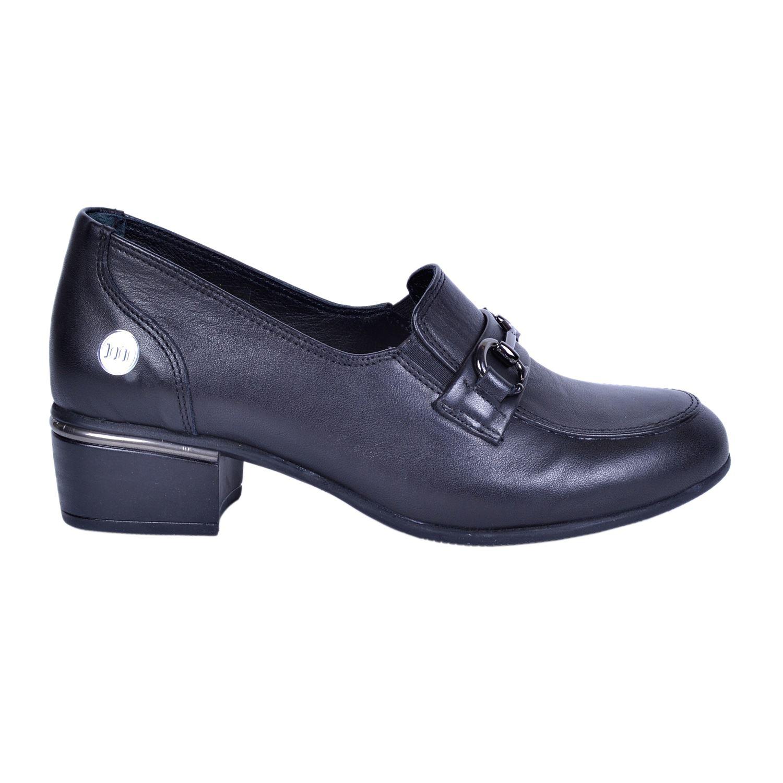 Mammamia 3020 Siyah Kadın Deri Ayakkabı