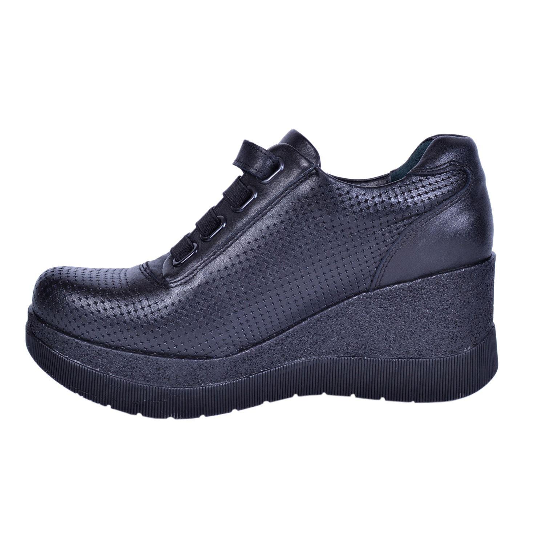 Mammamia 3085 Siyah Kadın Deri Ayakkabı