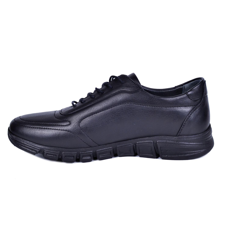 Siyah Erkek Deri Ayakkabı 745