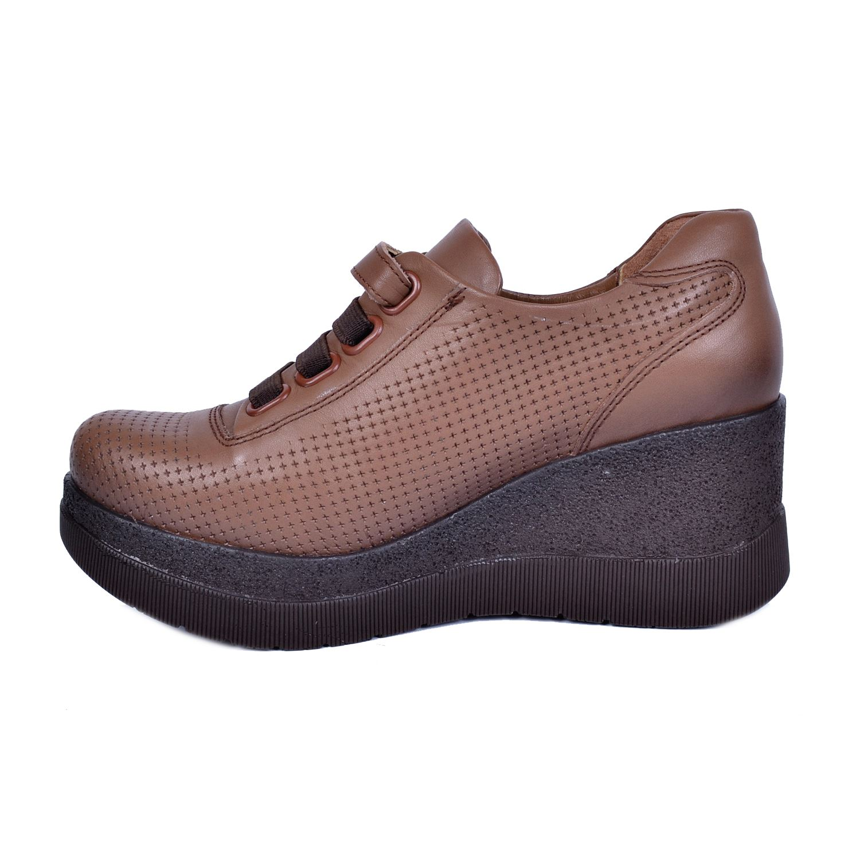 Mammamia 3085 Taba Kadın Deri Ayakkabı