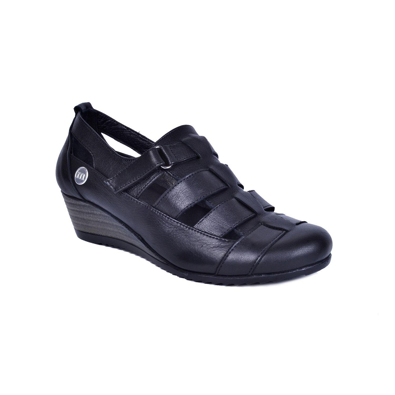 Mammamia 385 Siyah Kadın Deri Ayakkabı