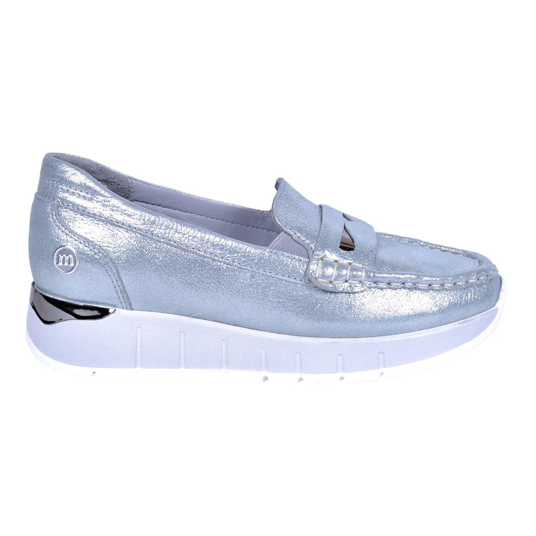 Mammamia 3195 Mavi Kadın Deri Ayakkabı