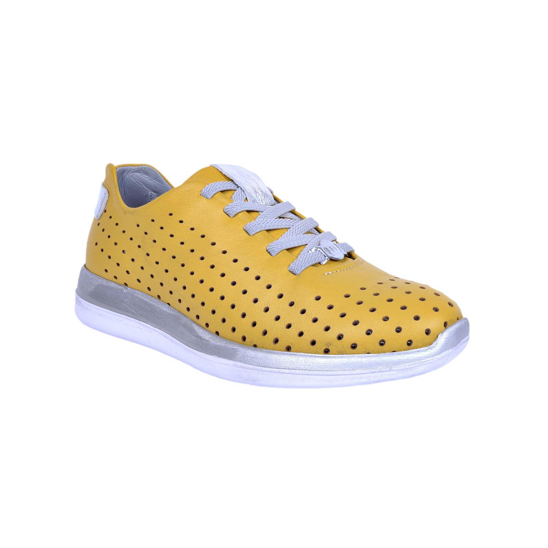 Mammamia 310 Sarı Kadın Deri Ayakkabı
