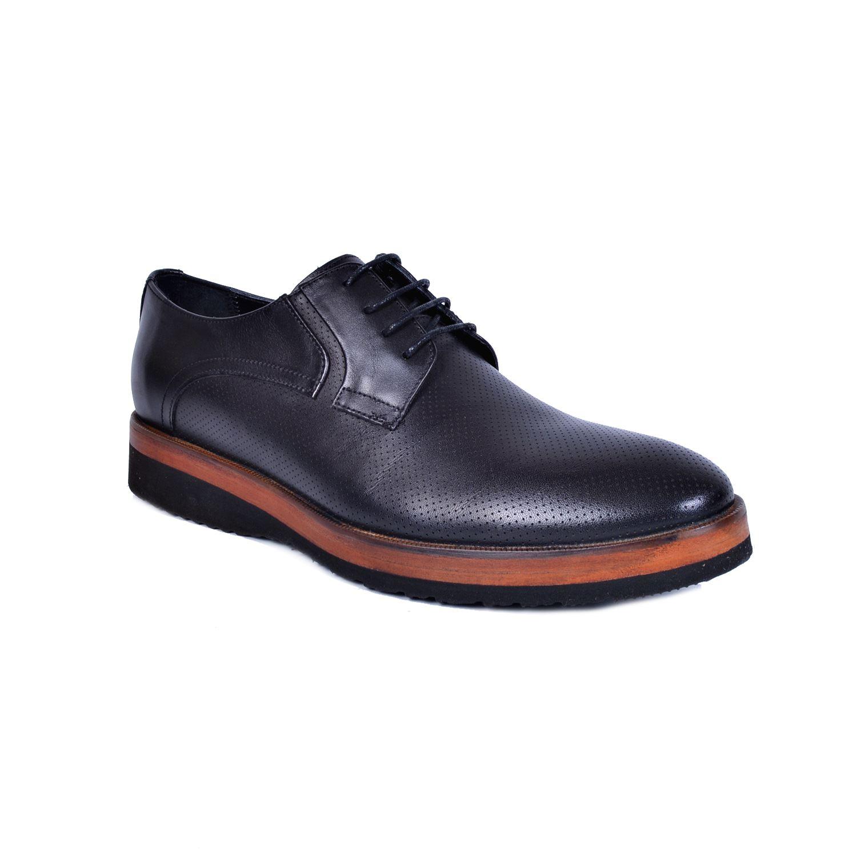 Marcomen 11254 Siyah Erkek Deri Ayakkabı
