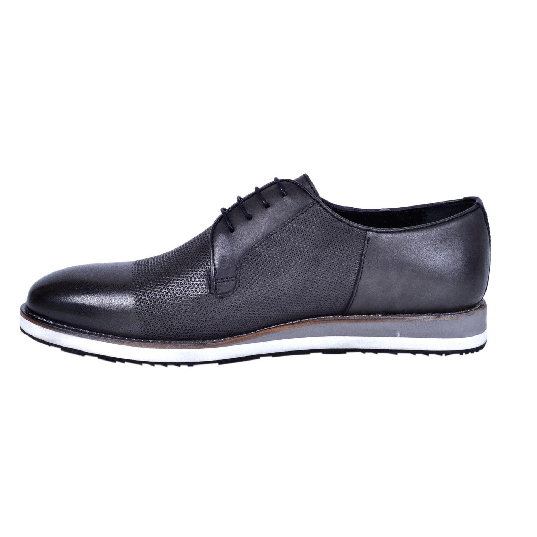 Marcomen 18183 Siyah Erkek Deri Ayakkabı