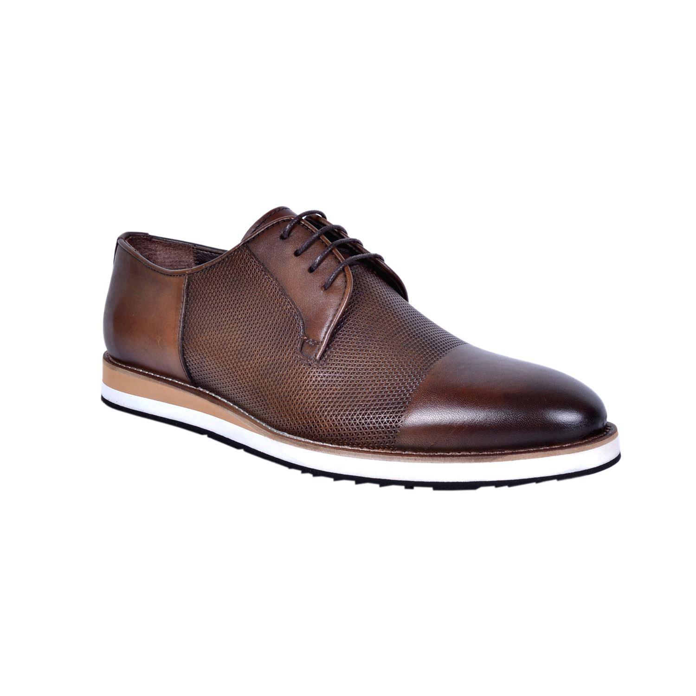 Marcomen 18183 Taba Erkek Deri Ayakkabı