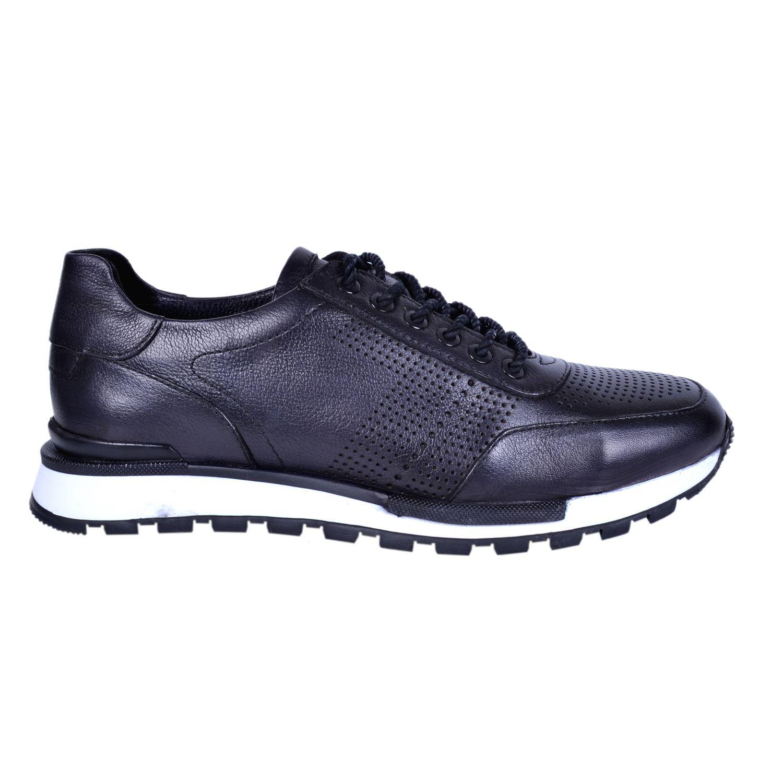 Marcomen 18004 Siyah Erkek Deri Ayakkabı