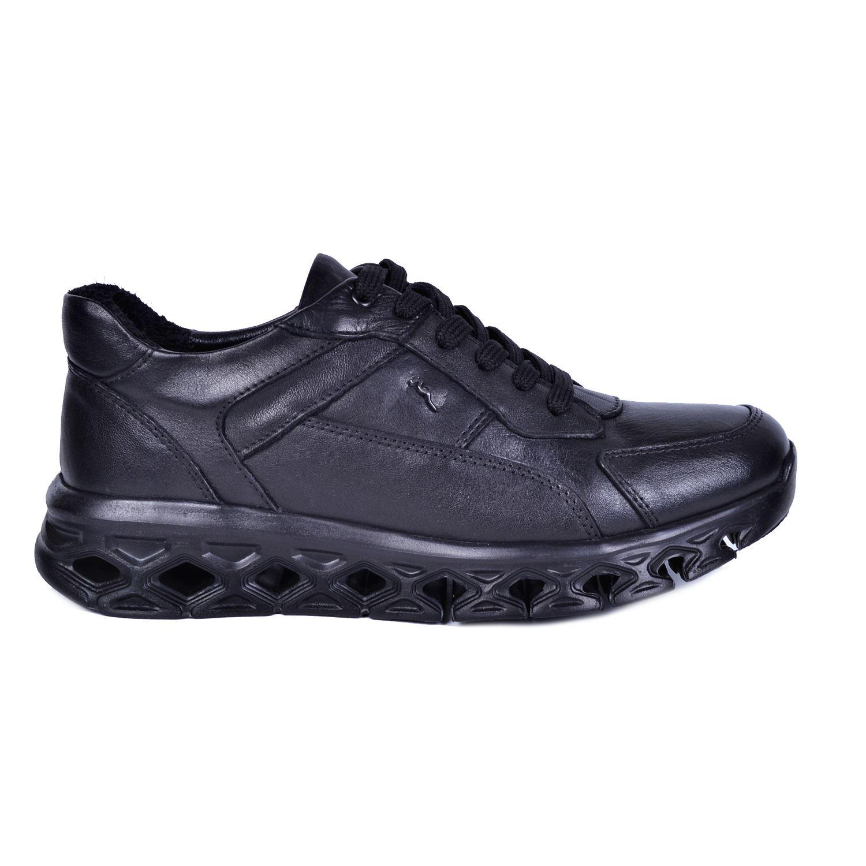 Marcomen 18816 Siyah Erkek Deri Ayakkabı