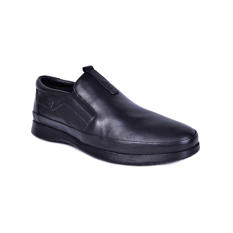 Marcomen 18136 Siyah Erkek Deri Ayakkabı
