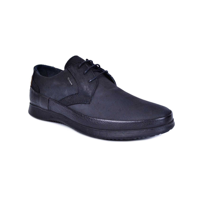 Marcomen 18062 Siyah Erkek Deri Ayakkabı