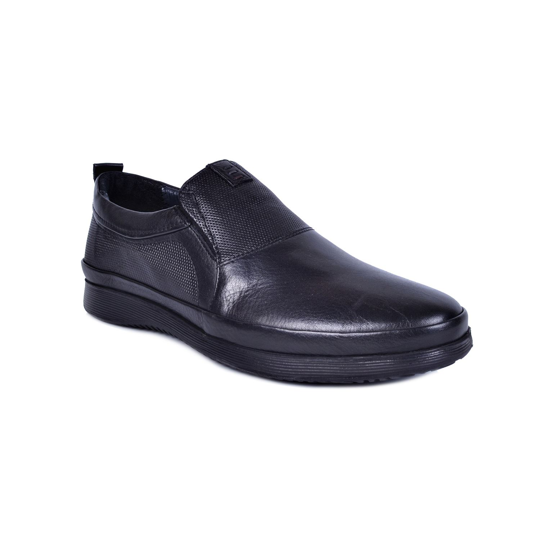Marcomen 18138 Siyah Erkek Deri Ayakkabı