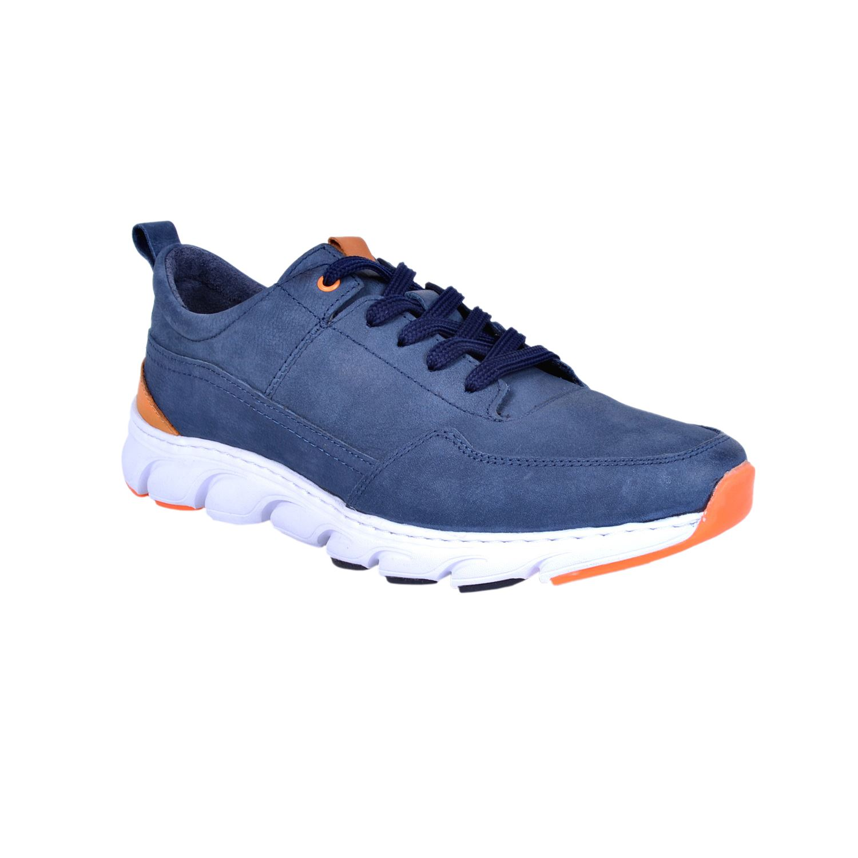 Marcomen 18232 Mavi Erkek Deri Ayakkabı