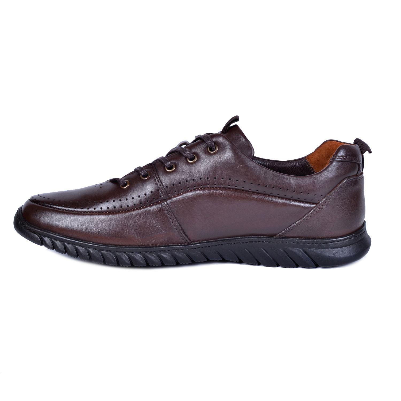 Marcomen 11221 Kahve Erkek Deri Ayakkabı