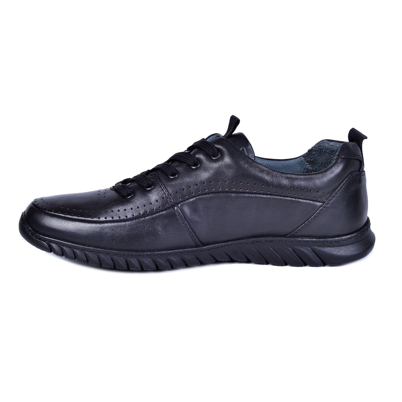 Marcomen 11221 Siyah Erkek Deri Ayakkabı