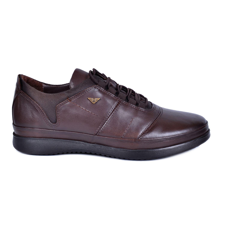 Marcomen 18108 Kahve Erkek Deri Ayakkabı