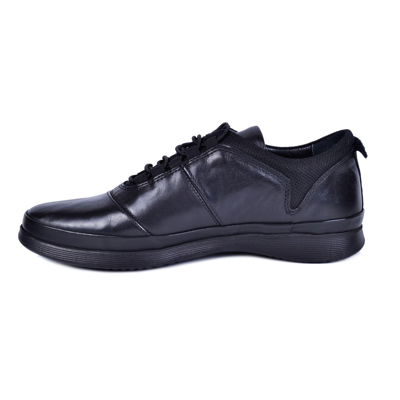 Marcomen 18108 Siyah Erkek Deri Ayakkabı