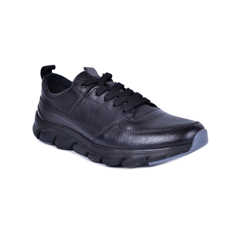 Marcomen 18232 Siyah Erkek Deri Ayakkabı