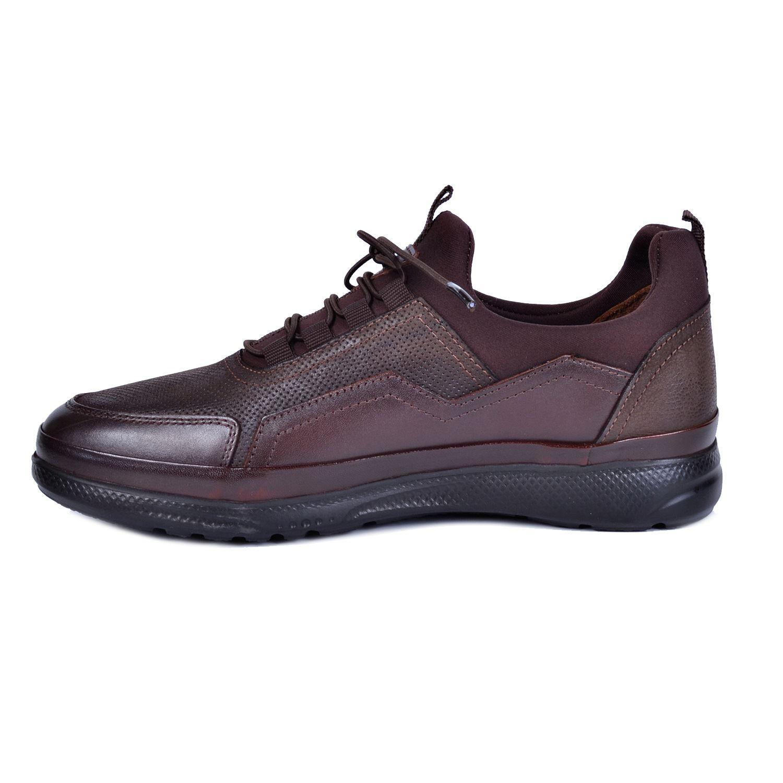 Marcomen 18106 Kahve Erkek Deri Ayakkabı