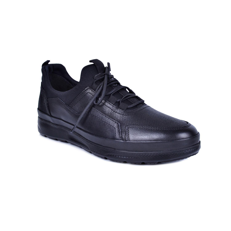 Marcomen 18106 Siyah Erkek Deri Ayakkabı