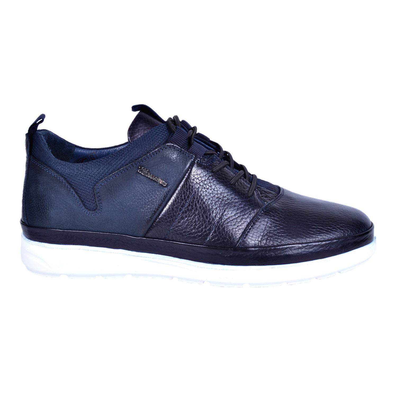 Marcomen 18103 Lacivert Erkek Deri Ayakkabı