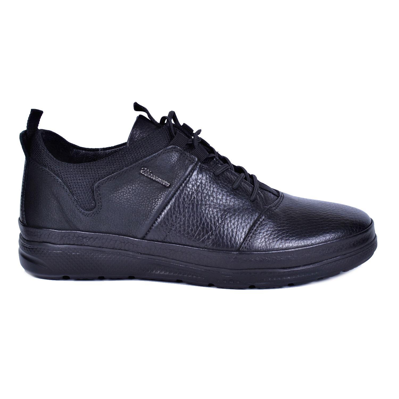Marcomen 18103 Siyah Erkek Deri Ayakkabı