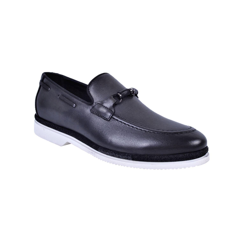 Marcomen 18056 Siyah Erkek Deri Ayakkabı