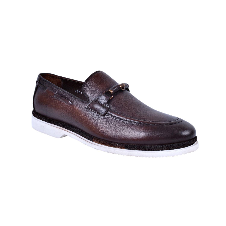 Marcomen 18056 Kahve Erkek Deri Ayakkabı