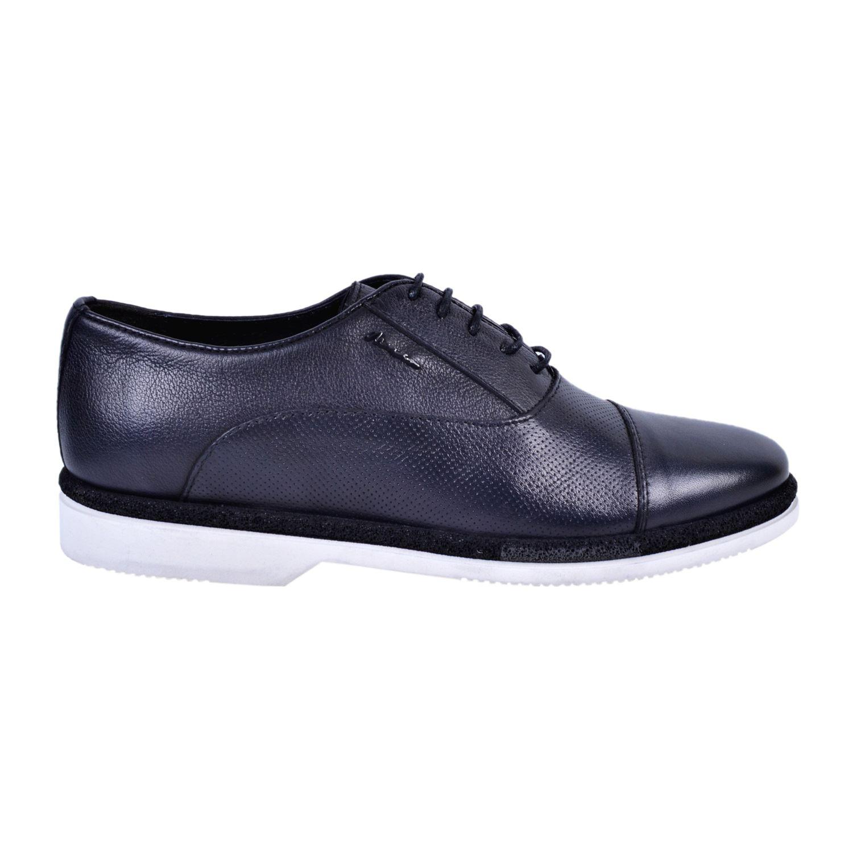 Marcomen 18093 Siyah Erkek Deri Ayakkabı