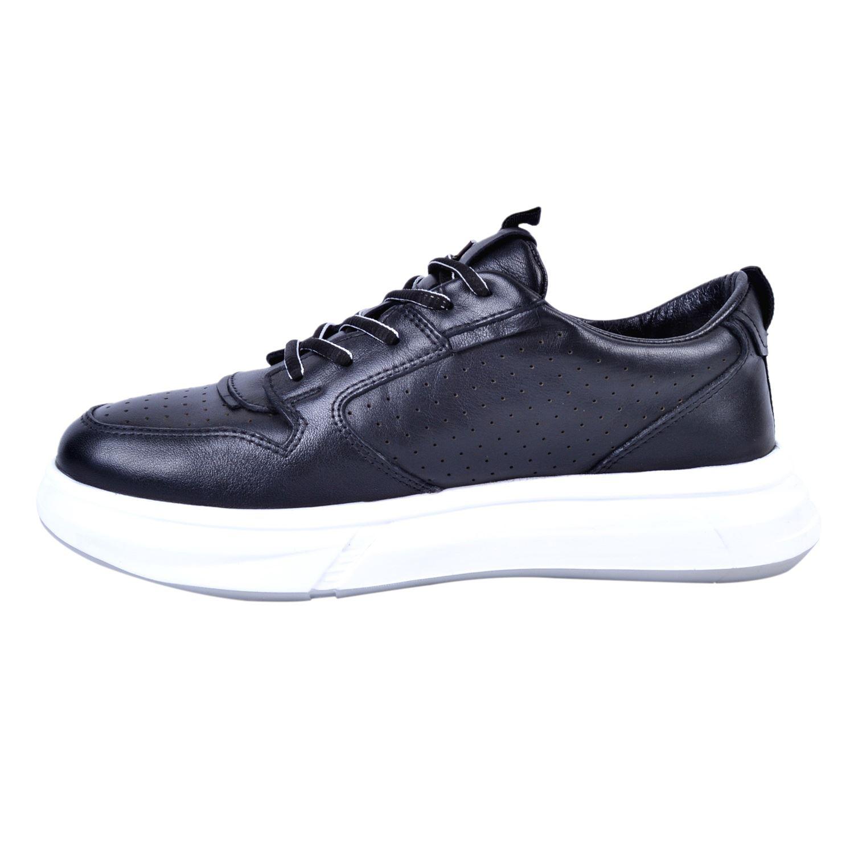 Marcomen 11241 Siyah Erkek Deri Ayakkabı