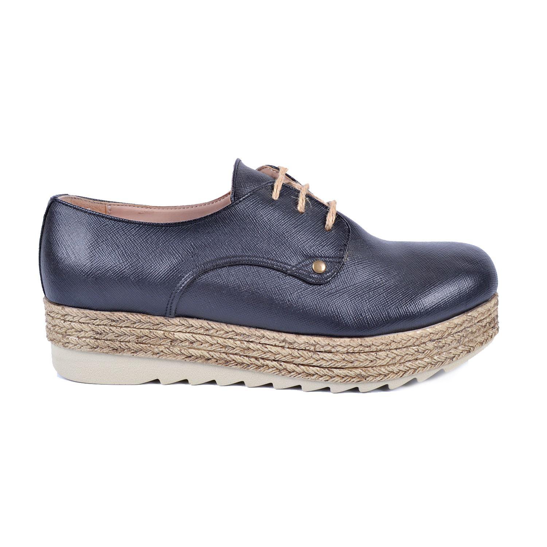 Siyah Kalın Taban Kadın Sneaker 48950