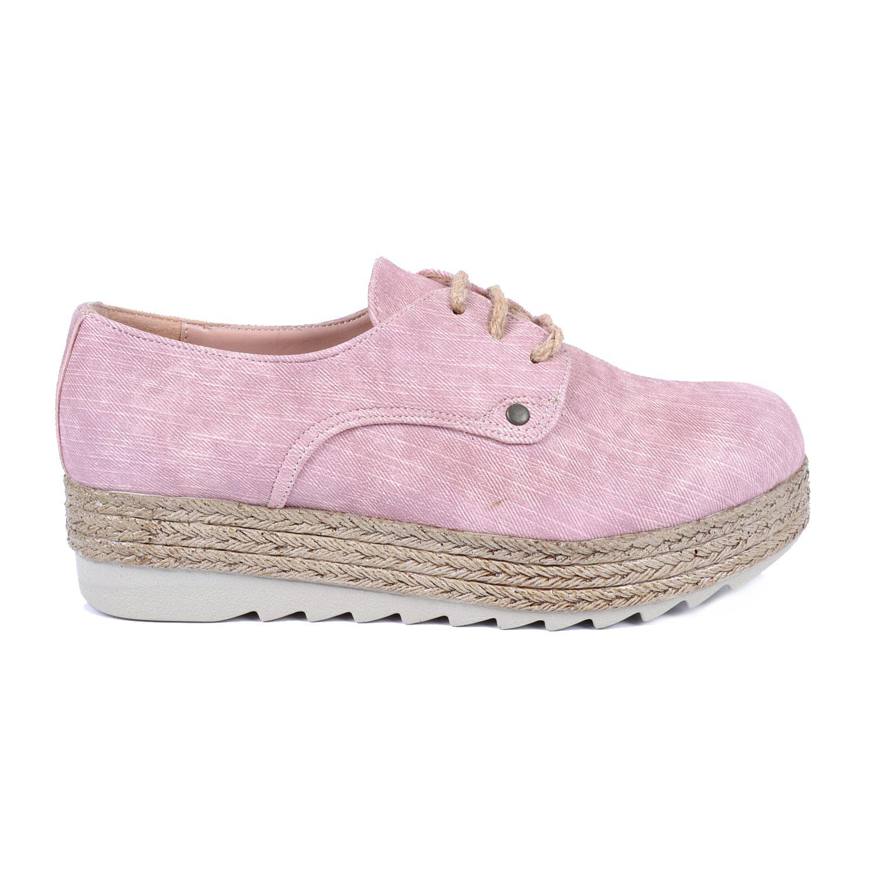 Pudra Kalın Taban Kadın Sneaker 48950