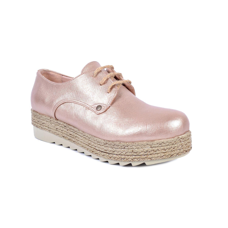 Bakır Kalın Taban Kadın Sneaker 48950