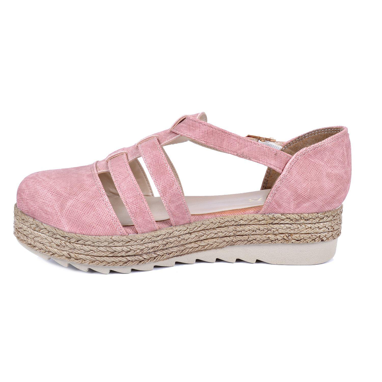 Pudra Kadın Ayakkabı 8054