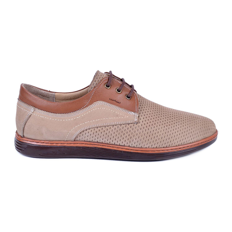 Bej Erkek Deri Ayakkabı 623