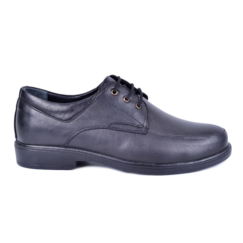 Siyah Erkek Deri Ayakkabı 1011