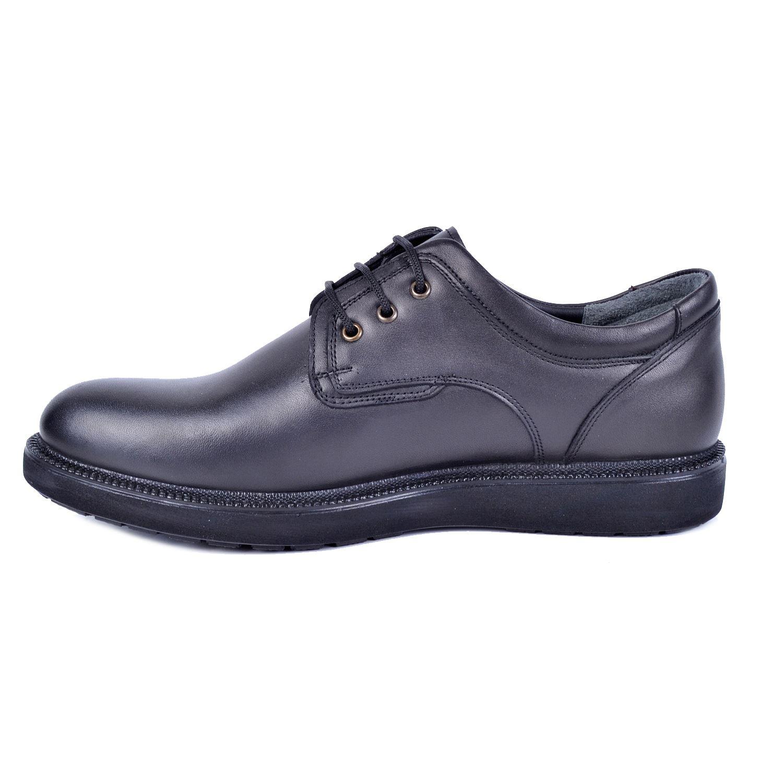 Siyah Erkek Deri Ayakkabı 896