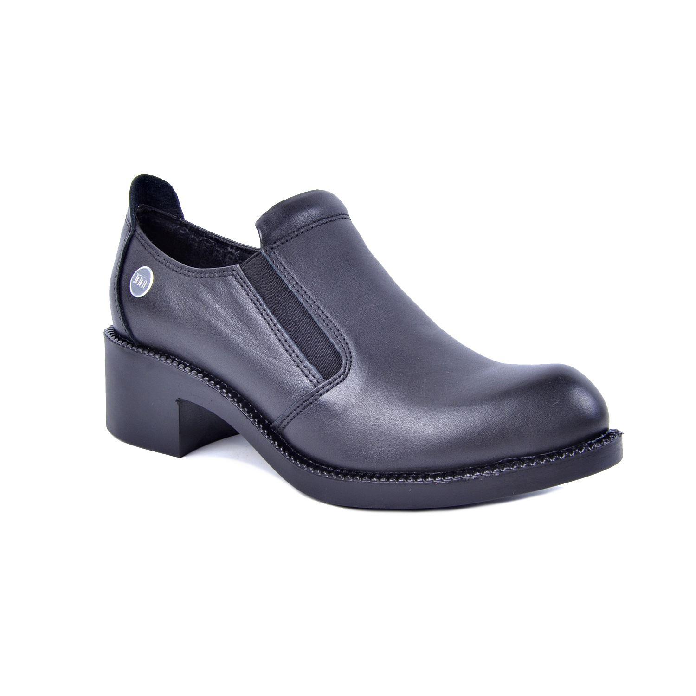 Mammamia D21KA-250 Siyah Kadın Deri Ayakkabı