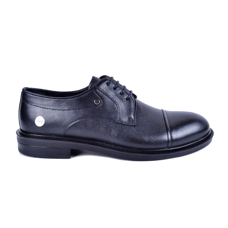 Mammamia D21KA-7105 Siyah Erkek Deri Ayakkabı