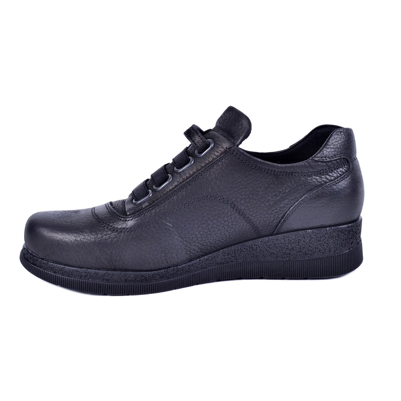 Mammamia D21KA-3130 Siyah Kadın Deri Ayakkabı