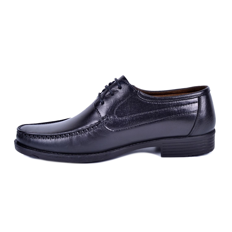İskarpin 820 Siyah Erkek Deri Ayakkabı
