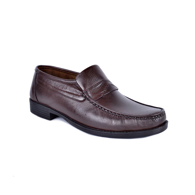 İskarpin 819 Kahve Erkek Deri Ayakkabı