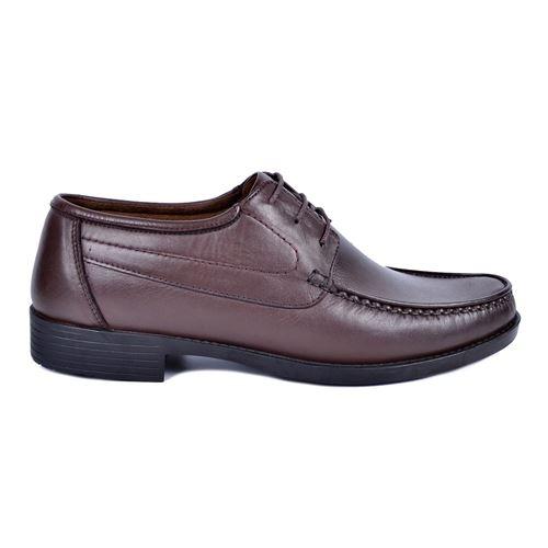 İskarpin 820 Kahve Erkek Deri Ayakkabı